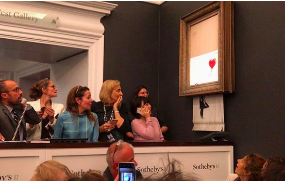 Here Are 8 Major Questions Still Unanswered About Banksy's Sotheby's Prank
