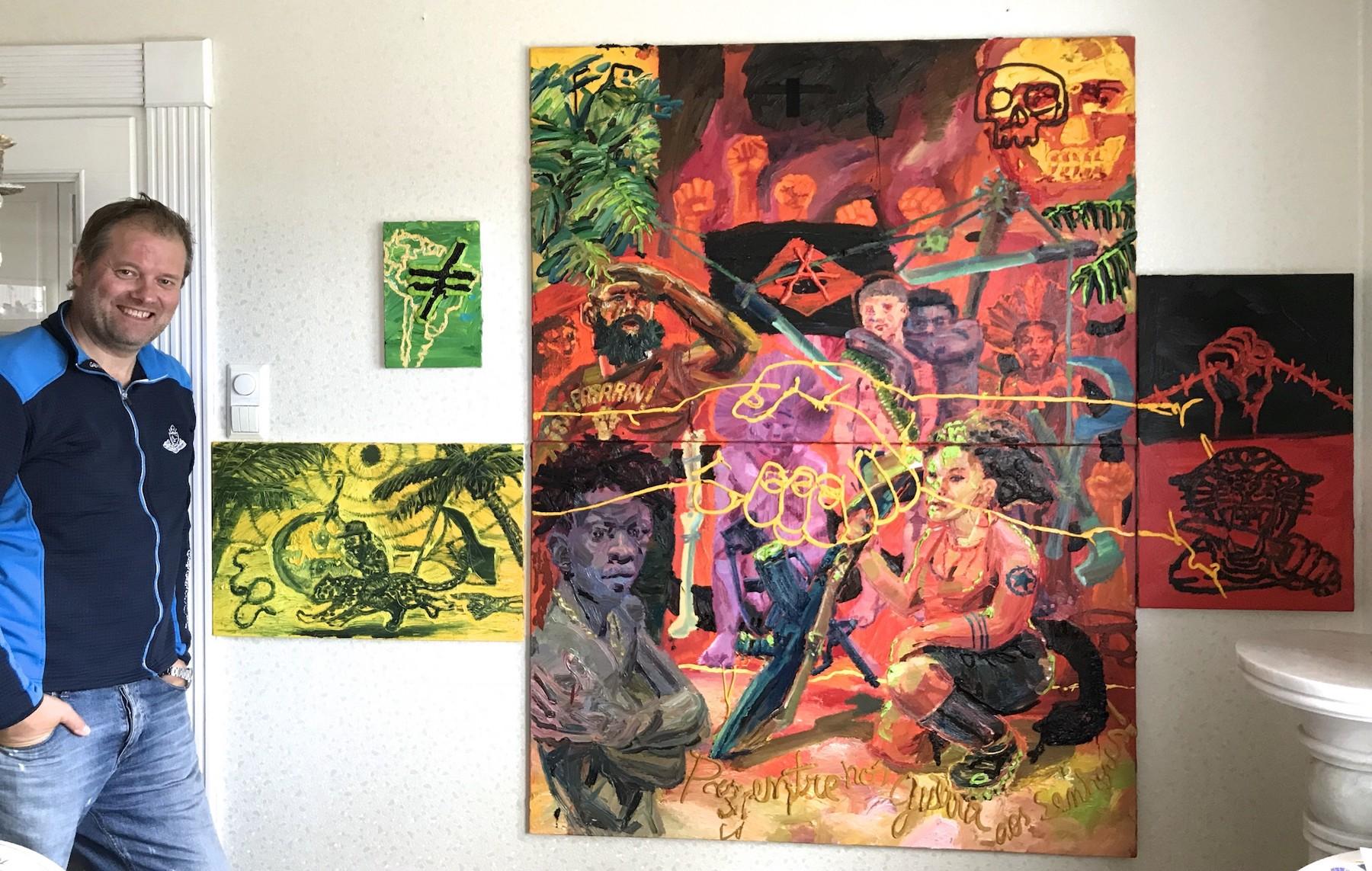 Roland Ofstad Art Collector