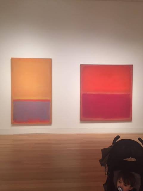 Mark Rothko at Yale Art Gallery