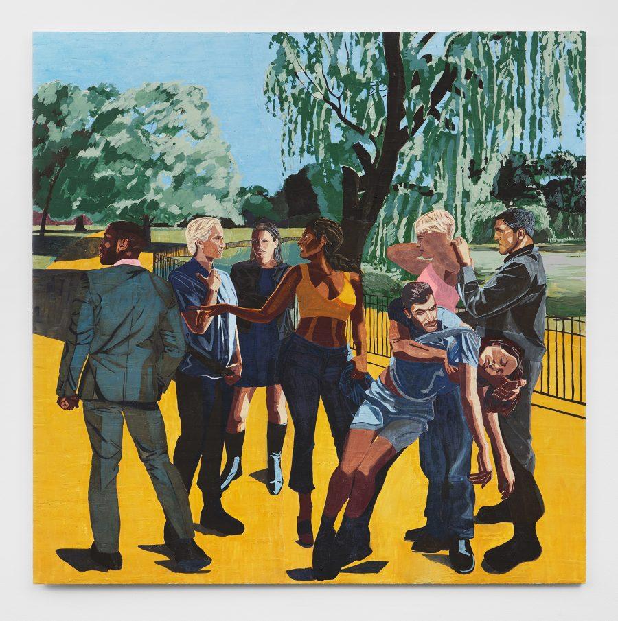 Hannah Quinlan & Rosie Hastings at Galerie Isabella Bortolozzi
