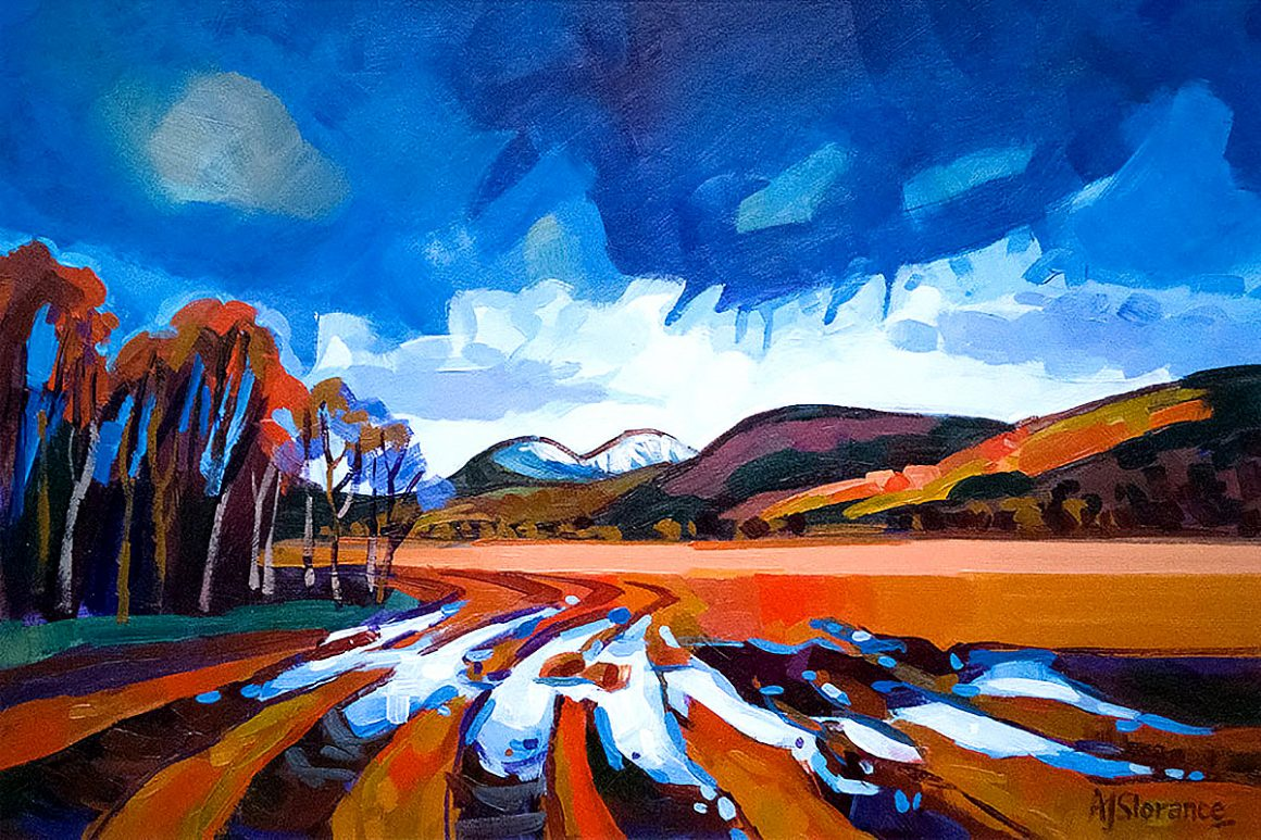 Audrey Slorance's Bright and Beautiful at Aberfeldy Gallery