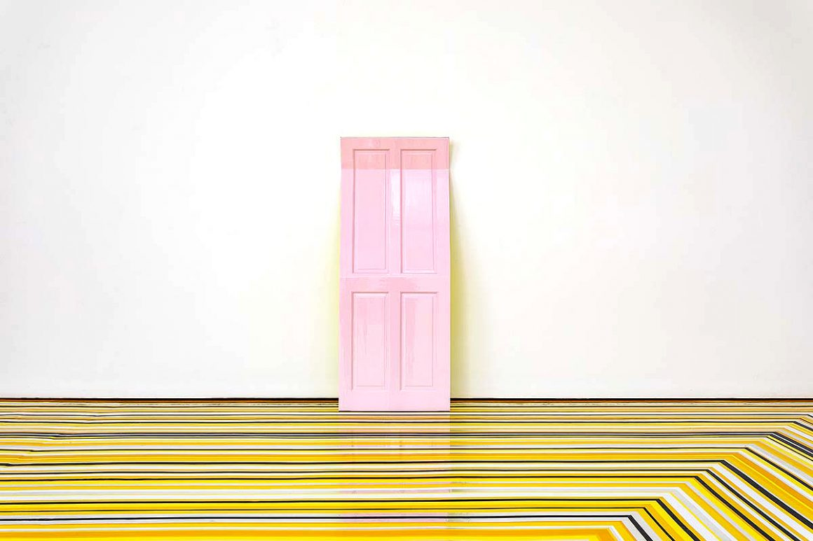 Now You See Him… Jim Lambie's Modern Institute Homecoming | Artmag