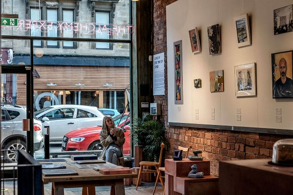 Glasgow Gallery and Café Calls for Love in the Chaos