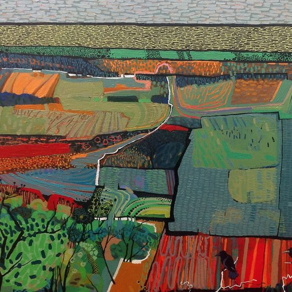 Texture and Pattern Inspire Carol Dewart at Larks Gallery Ballater