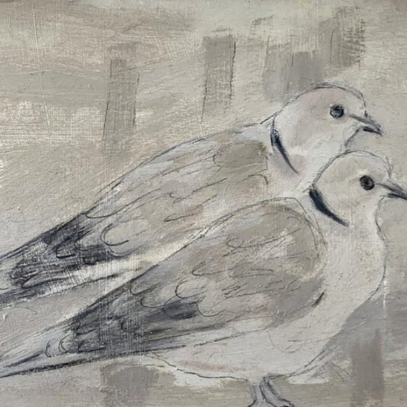 Joyce Gunn Cairns at Berwick-upon-Tweed's Dockside Gallery
