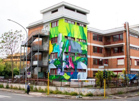 """Botanica Resistente"" by ETNIK in Rome, Italy – StreetArtNews"