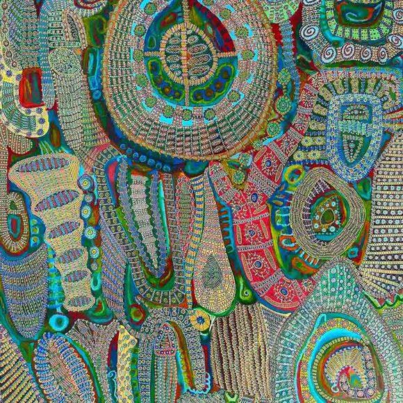 Emma-Louise Grady's Wonderful Wanderings at Upright gallery Edinburgh