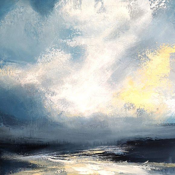 A Gleam Of Sunlight Through The Clouds At The Birch Tree Gallery, Edinburgh   Artmag